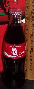 2018 COCA - COLA SHARE A COKE WITH SAN DIEGO PADRES 8OZ COCA - COLA BOTTLE