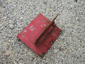 Farmall Cub 184 185 Tractor Ih Seat Bracket Battery Tray Holder