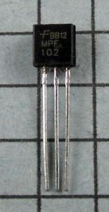 Mpf102 Fairchild Rf Mosfet N channel Jfet To 92 5pcs Per Lot