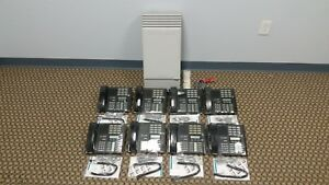 Nortel Mics Office Phone System Package 8 M7310 4 Lines Caller Id