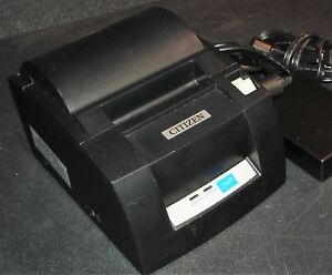 Citizen Ct s310a Pos Thermal Receipt Printer Usb Parallel W Ac Adapter