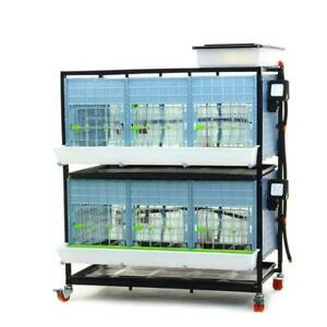 Chick Brooder 2 Layer H 15 hygienic Breeding Pen Durable Easy To Clean