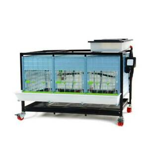Chick Brooder 1 Tier H 15 Strong Plastic Easy To Clean Hygienic Breeding