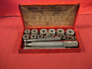 Vintage Snap On Bushing Driver Set A 157