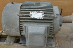 Reliance Electric 15hp 460v 3 phase 1765rpm Electric Ac Motor