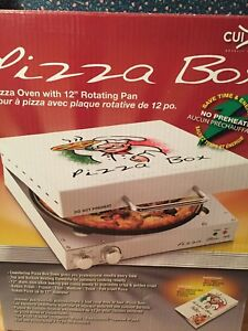 Cuizen Piz 4012 Pizza Box Oven Countertop Home Baking Dorm Camping