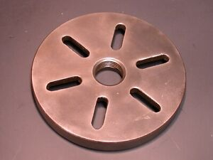 Original 9 10k South Bend Lathe Slotted Face Plate
