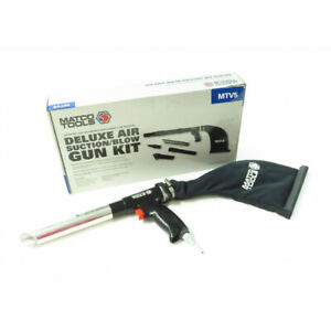 Matco Tools Mtv5 Deluxe Air Suction Blow Gun Kit W Bag Attachments