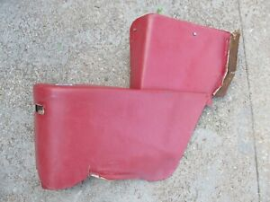 1964 1967 Chevy Chevelle Convertible Rear Seat Arm Rest Side Panel Red