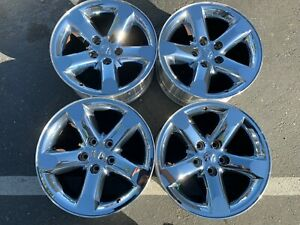 2006 2008 Dodge Ram 1500 Factory Chrome Clad 20 Wheels Durango Oem Rims 2267