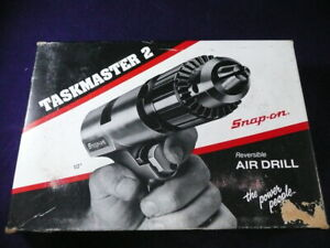 Snap on Taskmaster 2 Reversible Air Drill 1 2 Pdr5a With Key