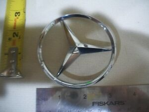 Mercedes Benz Star Trunk Lid Chrome Emblem Symbol Badge Oem Used Genuine