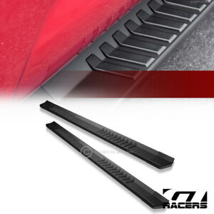 For 2005 2018 Toyota Tacoma Double Cab 6 Matte Black Oe Aluminum Running Boards
