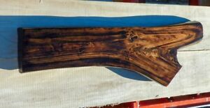Authentic Montana Lumber Rustic Live Edge Cottonwood Slab For Table Bench Top