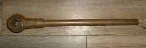 Vtg Keystone Tools 16 Hand Held 7 8 Socket Wrench 17 5 Long Made In The Usa