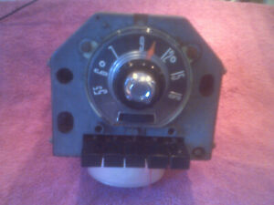 1955 Ford Deluxe Customline Fomoco Factory Oem Push Button Radio Free Shipping