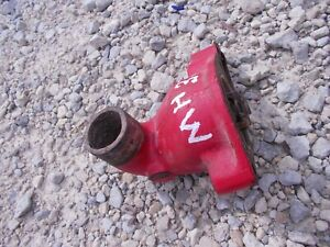 Massey Harris Mh 33 Tractor Engine Too Radiator Water Tube Thermostat Housing