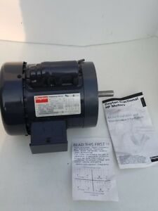 New Dayton Single phase 1725 Rpm 1 4hp Industrial Engine 6k975e