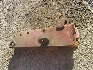 Farmall 504 Rc Tractor Fasthitch Prong Pocket Ih Holder