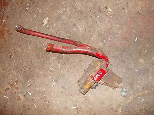 Farmall 504 Utility Tractor Ih Pair Set Front Hydraulic Lines Connector Ends