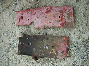 Farmall 504 Rowcrop Tractor Original Ih Steps Floor Board Panels Right Left