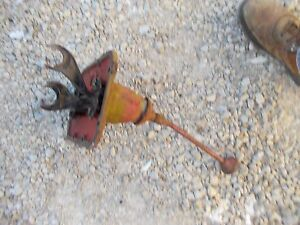 Farmall B Tractor Ih Main Transmission Housing Gear Shifter Shift Tower Forks