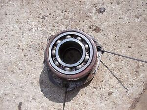 Farmall B Tractor Good Ih Rearend Transmission Differential Holder Cap Bearing