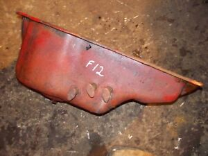 Mccormick Farmall F12 Tractor Ih Engine Motor Oil Pan Pet Cocks Plug Dentfre