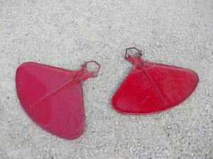 Farmall C Sc 200 Tractor Straight Original Ih Fenders W Mounting Axle U Bolts