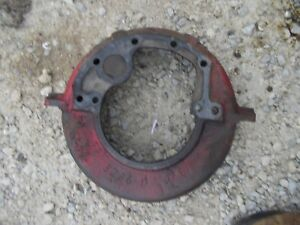 Mccormick Farmall F12 F14 Tractor Ih Engine Motor Flywheel Cover Housing 3236 D