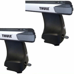 Thule Rapid Roof Luggage Rack Aluminum Tubes Si Slidebar For Volvo S60 754