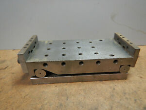 Adjustable Angle Sine Plate Machinie Machinist Tool Jig Fixture Lot Ae48b