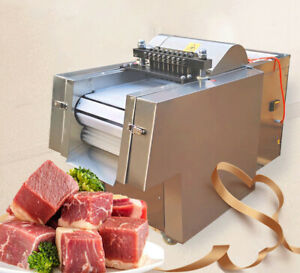 Brand New Fully Automatic Chicken Duck Fish Beef Meat Cutting Machine