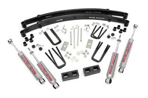 Rough Country 3 Suspension Lift Kit For Toyota Pickup 4runner 84 85 4wd 4x4