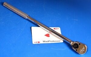 Mac Tools 3 8 Drive 12 Long Knurled Handle Pear Head Socket Wrench Ratchet New