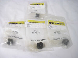 4 Enerpac 1 2 Punches Gb Kp500 Knockout Punches Made In The Usa Black Steel