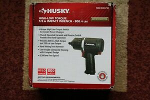 Husky High low Torque 1 2 In Impact Wrench 800 Ft lbs H4470 Brand New