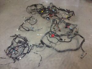 96 Trans Am Firebird Main Interior Car Dash Fuse Headlight Wiring Harness T56