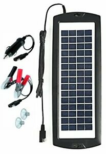 Sunway Solar Car Battery Charger 12v Battery Trickle Charger