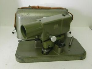 Vintage Wild Heerbrugg Leica Na2 Surveying Level Equipment Precise Level 3
