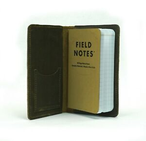 Field Notes Assorted Earth tone Oil Tan Leather Journal Cover