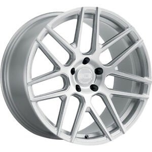 20x11 Silver Xo Moscow Wheels 5x4 5 20 Lifted Fits Jeep Liberty