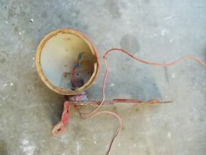 Ford 9n Tractor Orignl Rear Work Light Case Fender Mounting Left Fender Bracket
