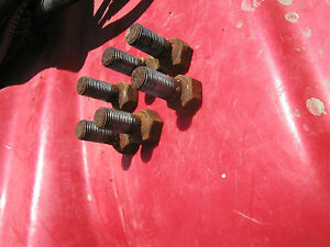 Farmall 460 560 Tractor 6 Ih Tapered Head Ih Bolts To Hold Front Rim To Hub