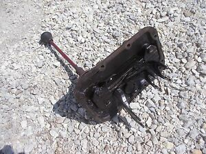 International 100 Tractor Ih Ihc Main Transmission Cover Gear Shifter Forks