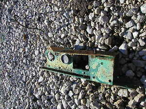Hart Parr rowcrop Tractor original dash that holds guages onto the tractor