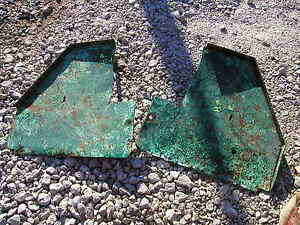Hart Parr rowcrop Tractor original pair/set of rear platform steps right & left