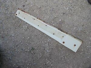 International 656 Rc Utility Tractor Ihc White Right Side Hood Engine Panel Rare