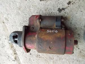 Farmall 560 Rc Tractor Ih Ihc 12v Good Working Starter Assembly W Sylnoid