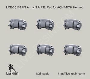 Live Resin 35118 135 US Army N.A.P.E. Pad for ACHMICH Helmet